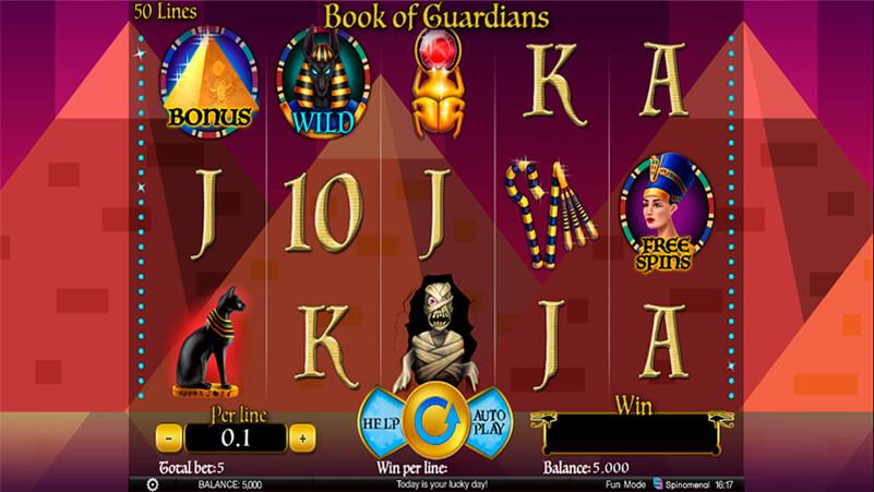 Изображение игрового автомата Book Of Guardians 2
