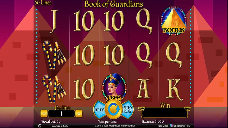 Изображение игрового автомата Book Of Guardians 1