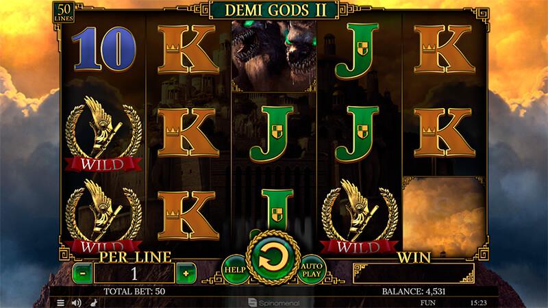 Изображение игрового автомата Demi Gods 2 2