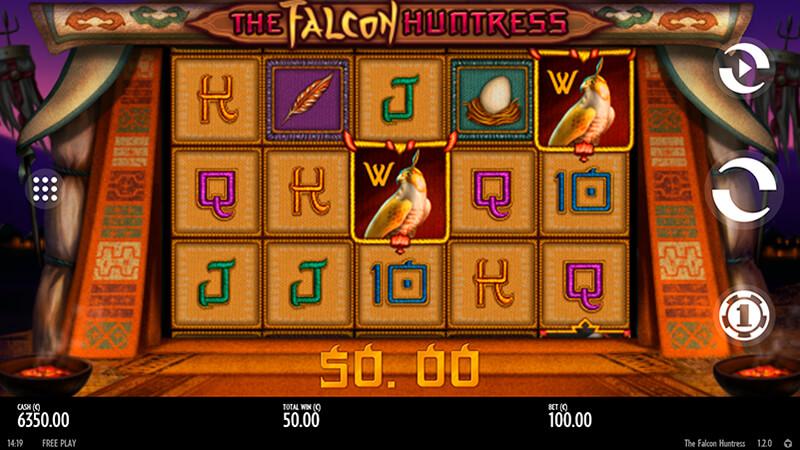 Изображение игрового автомата The Falcon Huntress 1