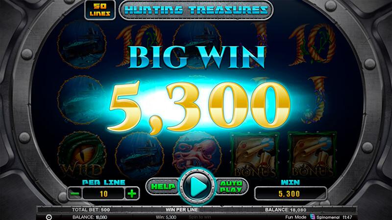 Изображение игрового автомата Hunting Treasures 3