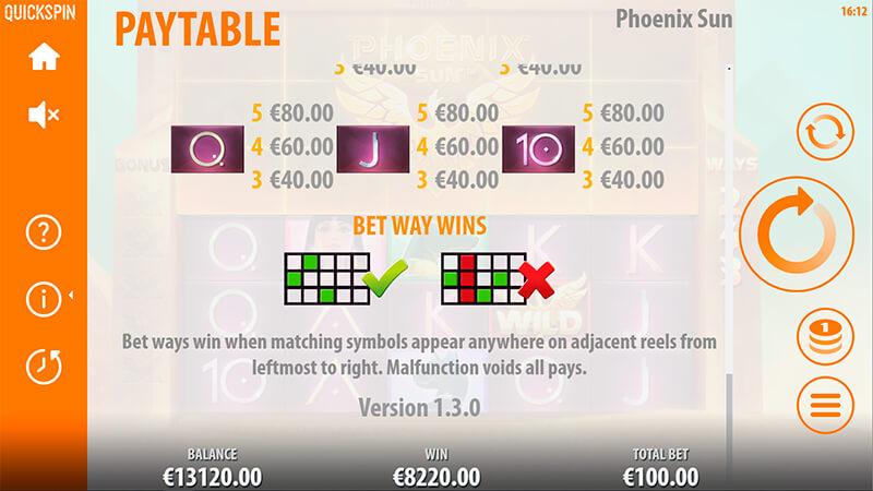 Изображение игрового автомата Phoenix Sun 3