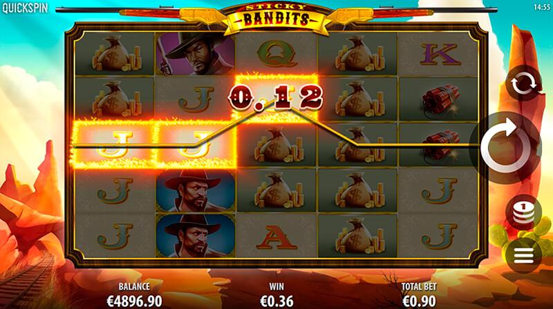 Изображение игрового автомата Sticky Bandits 2