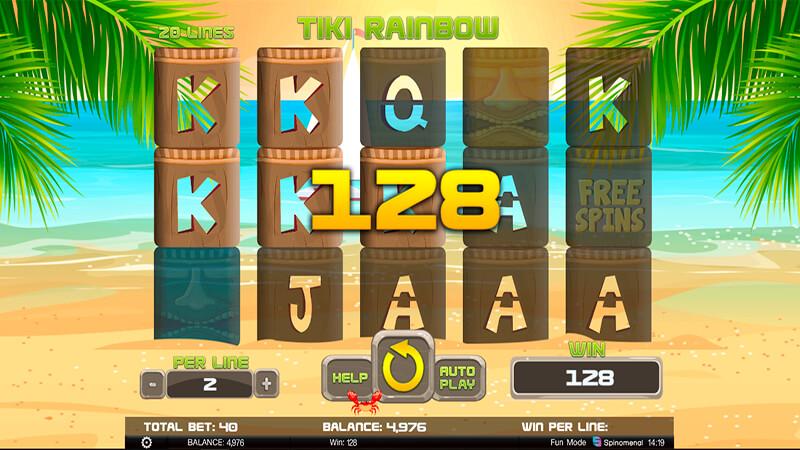 Изображение игрового автомата Tiki Rainbow 2