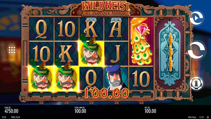 Изображение игрового автомата Wild Heist at Peacock Manor 1