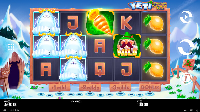 Изображение игрового автомата Yeti 1