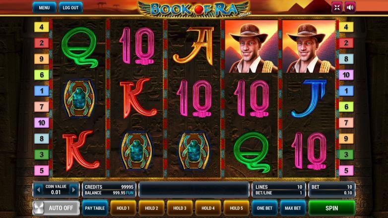 Изображение игрового автомата Book of Ra Deluxe 2