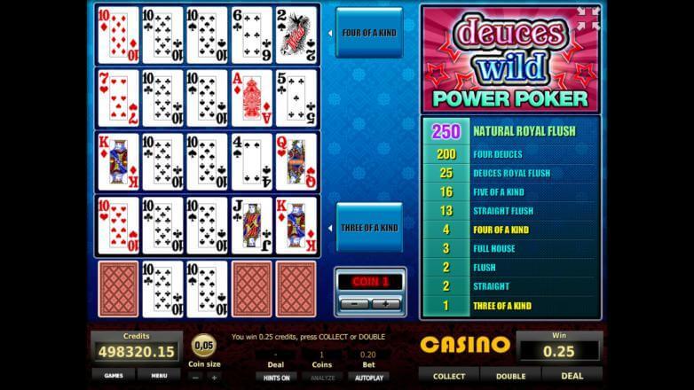 Изображение игрового автомата Deuces Wild 4-Hand Poker 3
