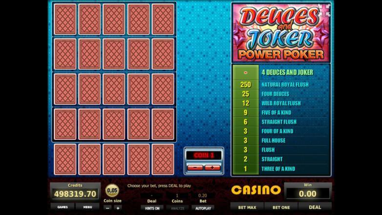 Изображение игрового автомата Deuces and Joker 4-Hand Poker 1