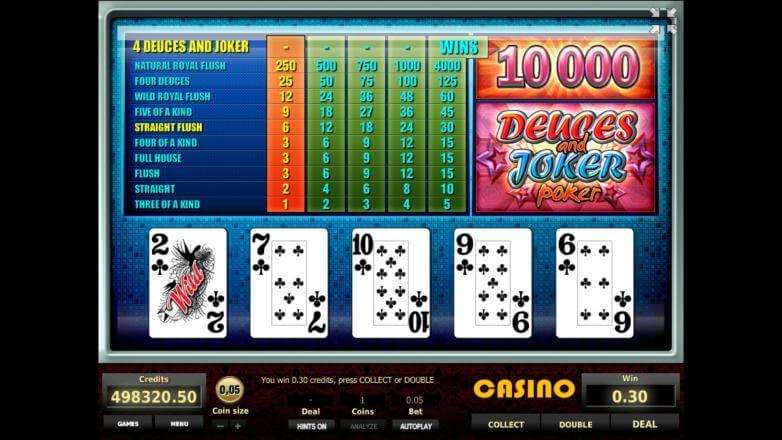 Изображение игрового автомата Deuces and Joker Poker 3