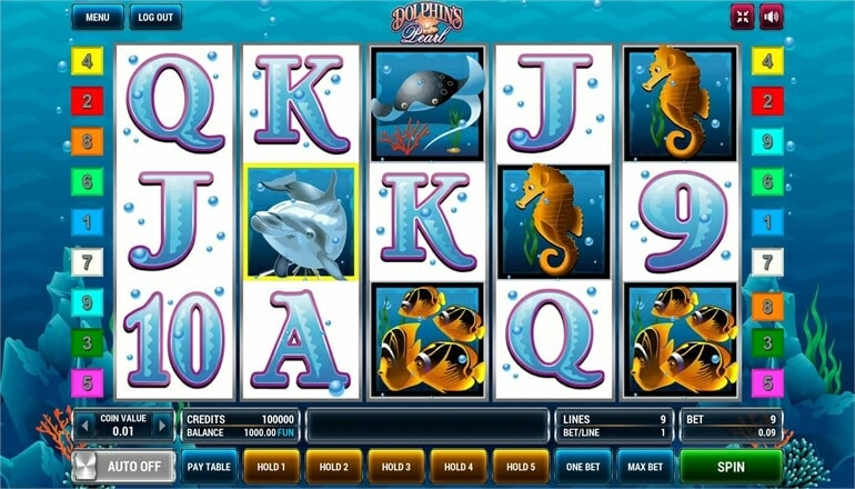 Изображение игрового автомата Dolphin's Pearl 2