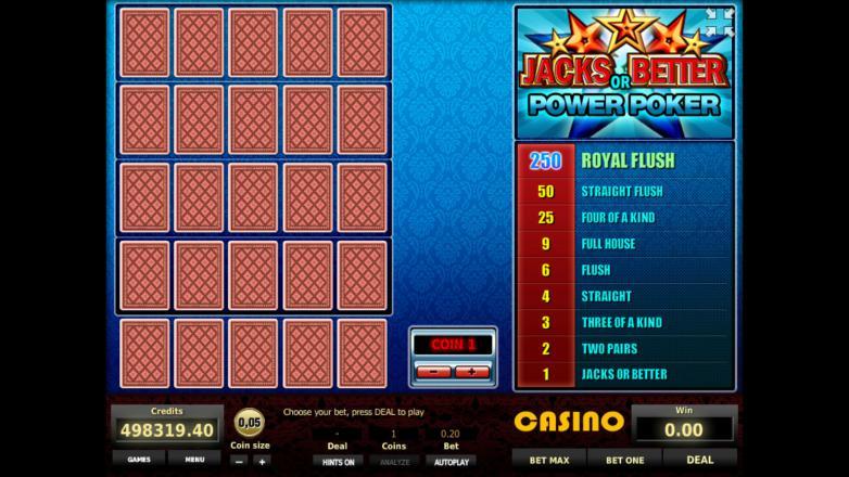 Изображение игрового автомата Jacks or Better 4-Hand Poker 1
