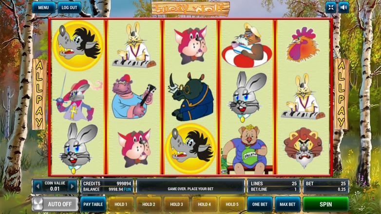 Изображение игрового автомата Lucky Wolf 2